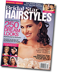 bridal star hairstyles magazines